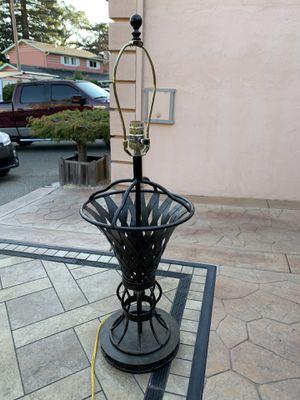 Iron lamp. for Sale in Novato, CA