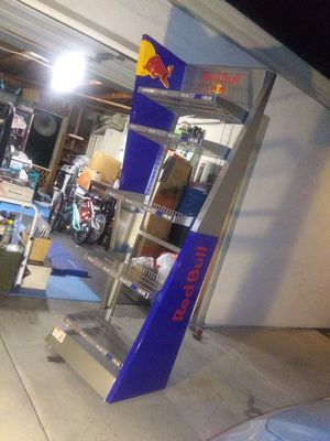 Red Bull display rack for Sale in Santee, CA