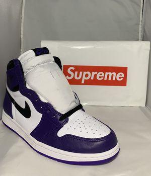 Jordan 1 court purples size 11🐌 for Sale in Saint Johns, FL