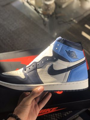 Jordan 1 UNC Obsidian Size 8 for Sale in Upland, CA