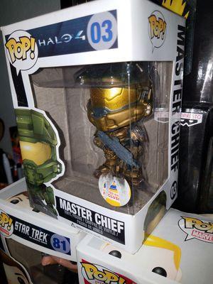 Funko Pop Blockbuster Master Chief exclusive for Sale in Clovis, CA