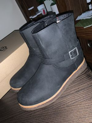 BRAND NEW - Black UGG Ankle Boots for Sale in Douglasville, GA