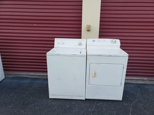 Gas washer and dryer in perfect condition with delivery included for Sale in San Antonio, TX