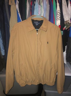Polo Ralph Lauren Bi-Swing Khaki Jacket Size Medium for Sale in San Antonio, TX