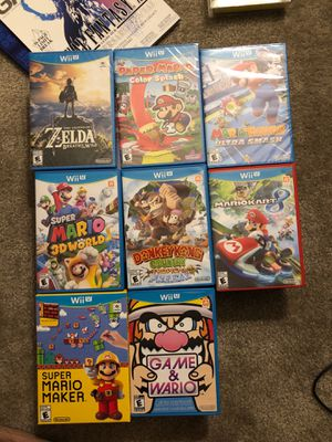 Nintendo Wii U for Sale in Yorkville, IL