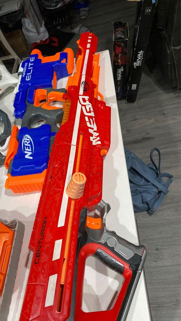 Multiple Nerf Guns (Backyard Family Fun)