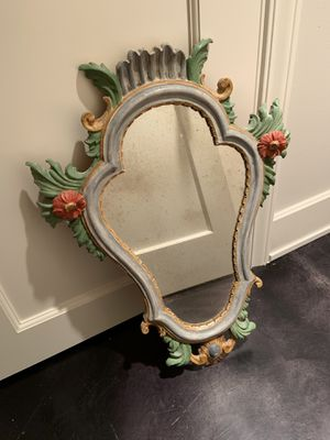 Italian mirror with antique glass for Sale in Seattle, WA