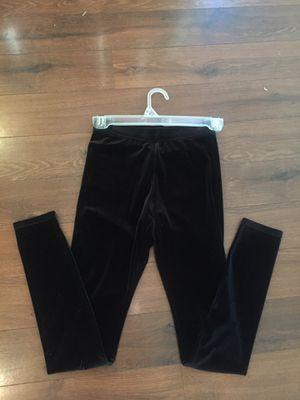 NEW Abercrombie Kids black stretch velvet leggings - size medium - perfect for the Christmas holidays or dressy. for Sale in Buckeye, AZ
