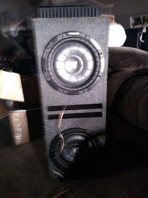 Kicker 10 inch with speaker for Sale in Phoenix, AZ
