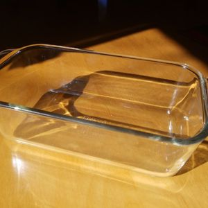"vtg Pyrex Loaf Pan 213-R Clear 8.5""x4.5""x2.5"" for Sale in El Paso, TX"