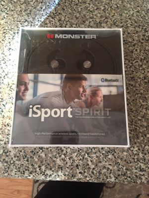 ISport high performance wireless sports neckband headphones for Sale in Eastchester, NY