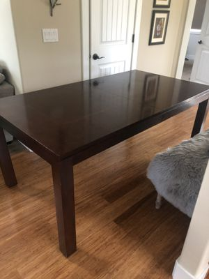 Ethan Allen dining table with two leaves for Sale in Portland, OR