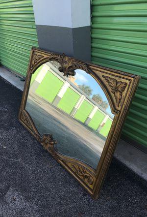 Large antique mirror for Sale in Miami, FL