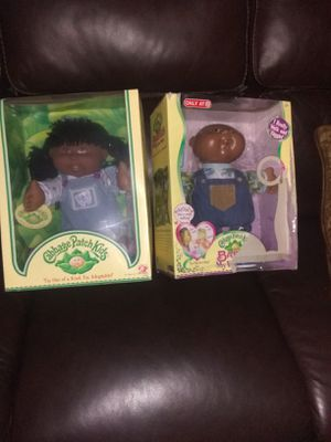 Two cabbage patch dolls for Sale in Washington, DC