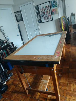 Large light table. for Sale in Washington, DC