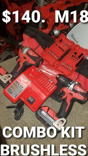 Milwaukee combo Kit brushless for Sale in Fontana, CA