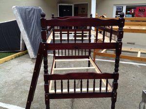 Wood bunk bed. T/T for Sale in Manassas, VA