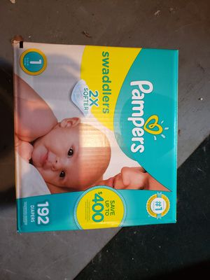 Pampers swaddled 192 ct for Sale in Tarpon Springs, FL
