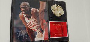 MJ signed plaque for Sale in Rockville, MD