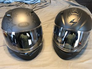 Two brand new Motorcycle Helmets for Sale in Hannibal, MO