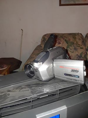 Panasonic 300x digital high definition camera and recorder vcr for Sale in Sylvan Springs, AL