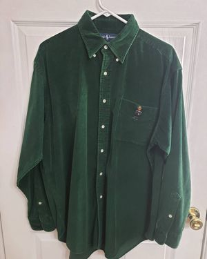 Ralph Lauren polo tommy hilfiger dress shirt button up express guess nike Adidas champions Reebok puma jordan for Sale in Fort Worth, TX