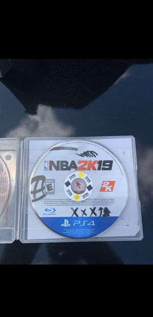 PS4 nba 2k19 for Sale in Perris, CA