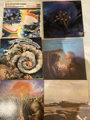 Moody Blues on vinyl lp records All Six for Sale in Winter Springs, FL