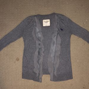 Grey Ruffle Cardigan for Sale in Chicago, IL