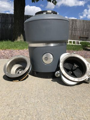 InSinkErator Evolution Compact 3/4 horsepower garbage disposal used for Sale in Romeoville, IL
