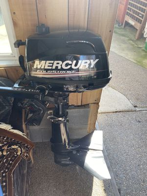 2017 Mercury Boat motor 5Hp for Sale in Sacramento, CA