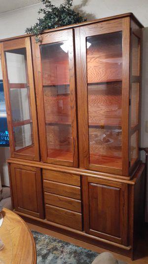 Oak Hutch for Sale in Rogers, AR