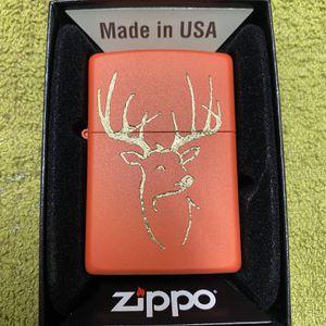 Zippo Deer Head Logo for Sale in Cut Off, LA
