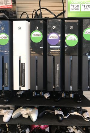 Xbox 1 ...150 XBOX 1 S..200. PS4 ....200 for Sale in Orlando, FL