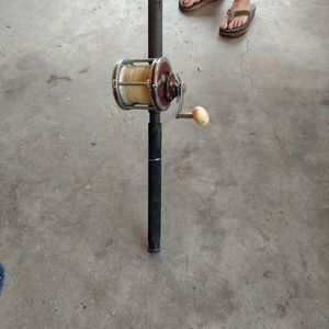 Senator Deep Sea Fishing Reel With Rod. for Sale in Crystal River, FL