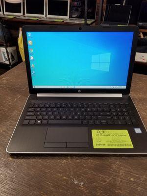 "HP 15-DA0061CL Laptop 15.6"" i5 Quad Core 8GB RAM 256GB SSD DVD-RW Webcam WiFi Backlit KB Windows 10 for Sale in Medina, OH"