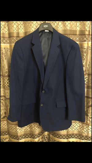 Croft and Barrow 46R Navy Blue Jacket for Sale in Alexandria, VA