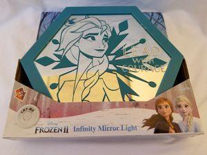Disney Frozen 2 Elsa Infinity Mirror Light $5 firm for Sale in South Gate, CA