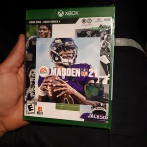 Madden 21 Xbox One for Sale in Mount Hamilton, CA