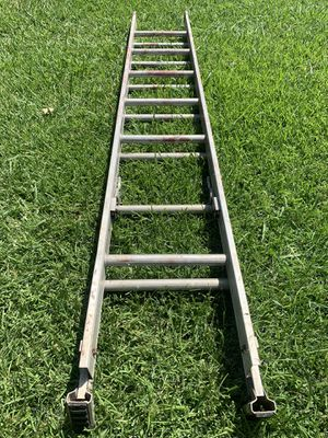 16ft Aluminum Extension Ladder for Sale in Garland, TX