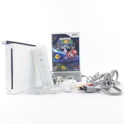 Nintendo Wii Console 1 Remote 1 Nunchuk 1 Mario Galaxy 1 Power 1 AV Cable 1 Sensor Bar All Works Will Delete Ad If Sold for Sale in Portland,  OR