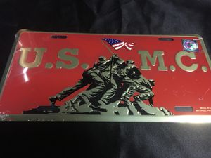 New U. S. Marine Corp. License Plate $10 PU In McDonough for Sale, used for sale  McDonough, GA