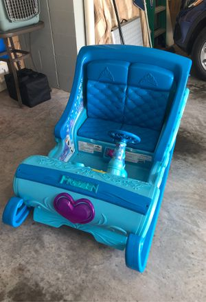 Frozen 12 Volt motorized sleigh with battery & charger for Sale in N REDNGTN BCH, FL