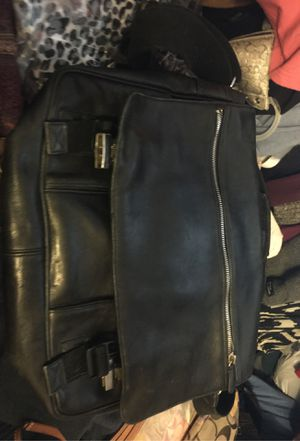 Coach heavy messenger leather bag for Sale in Union, NJ