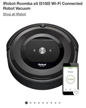iRobot roomba E5 for Sale in El Paso, TX