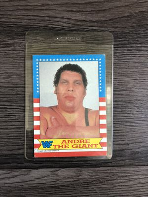 Andre the giant vintage wwf collectible card for Sale in Los Angeles, CA