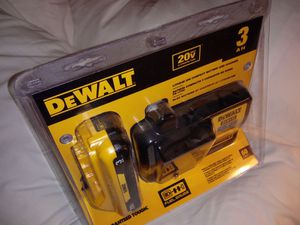 DEWALT 20-Volt Max 3-Amp-Hours Power Tool Battery Kit (Charger Included) for Sale in Phoenix, AZ