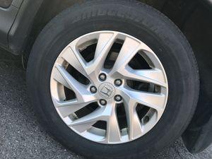 Set 4 Bridgestone 225/65R17 tires $90 firm price for Sale in Dearborn, MI
