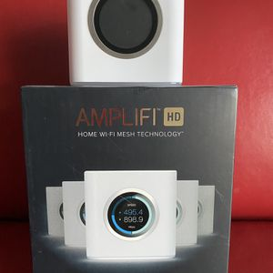 AmpliFi AFI-R IEEE 802.11ac Ethernet Wireless Router - 2.40 GHz ISM Band - 5 GHz UNII Band - 1 x Antenna(1 x Internal) - 218.75 MB/s Wireless Speed - for Sale in Scottsdale, AZ