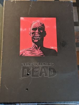 The Walking Dead Vol 1 Deluxe Hardcover Omnibus for Sale in Silver Spring, MD